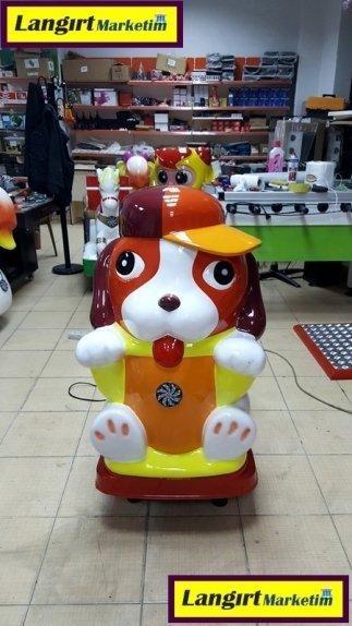 Jetonlu Oyuncak Şapkalı Köpek