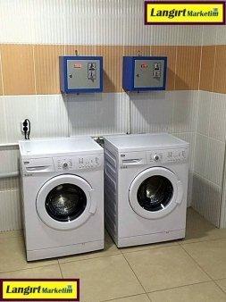 Jetonlu Çamaşır Makinesi