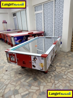 Sac Zeminli Air Hockey Masası