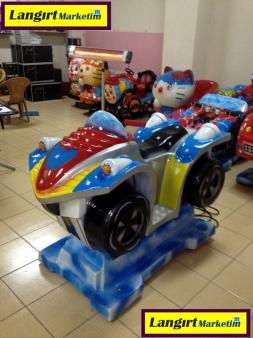 Jetonlu Oyuncak ATV Motor