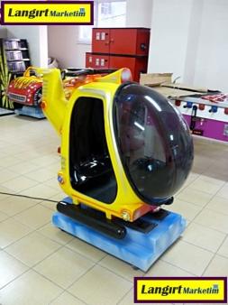 Jetonlu Oyuncak Helikopter